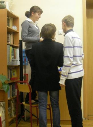 Профориентация в гимназии №1522. НИИ Соционики