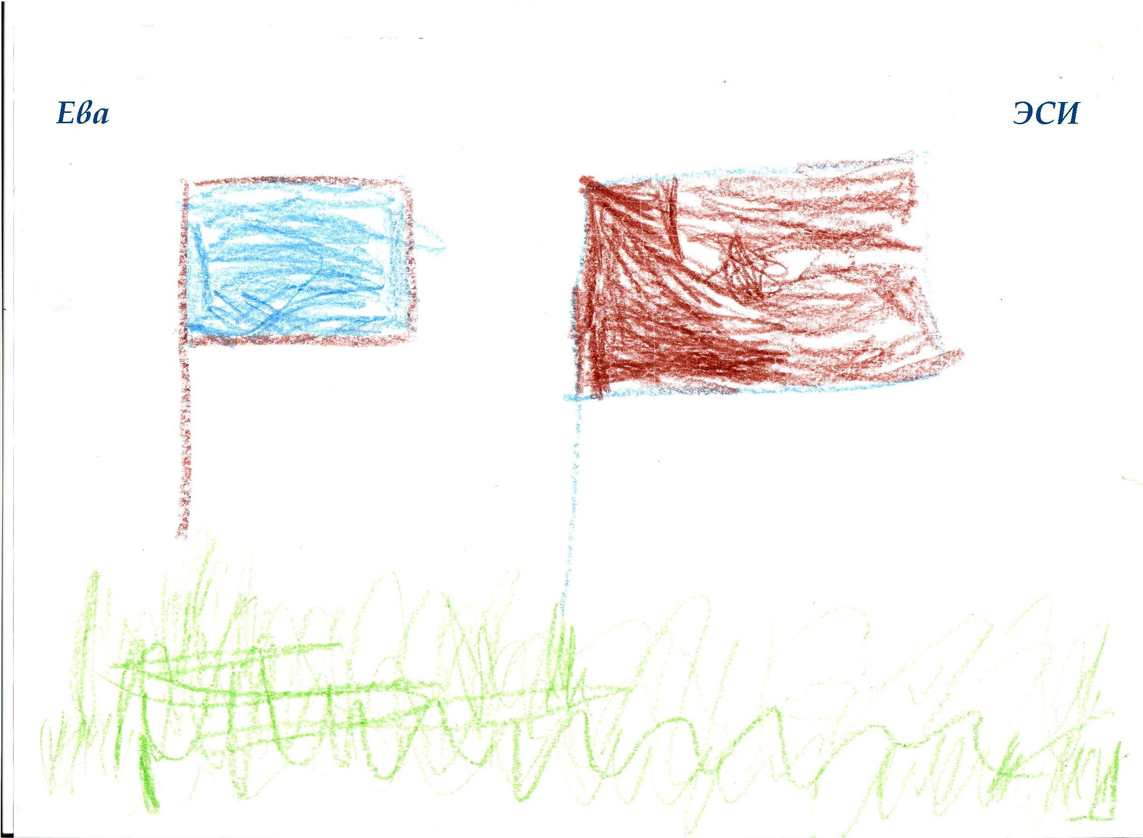 НИИ Соционики. Диагностика детей дошкольного возраста. Рисунок ЭСИ, 3 года