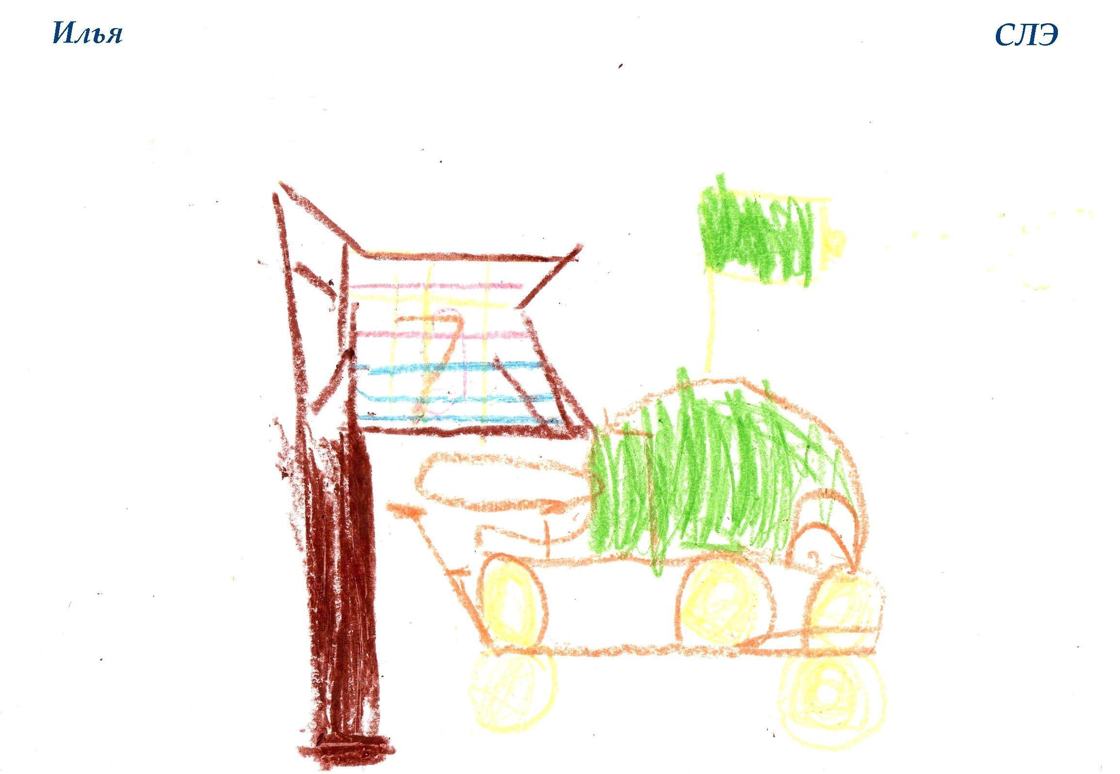 НИИ Соционики. Диагностика детей дошкольного возраста. Рисунок СЛЭ, 5 лет