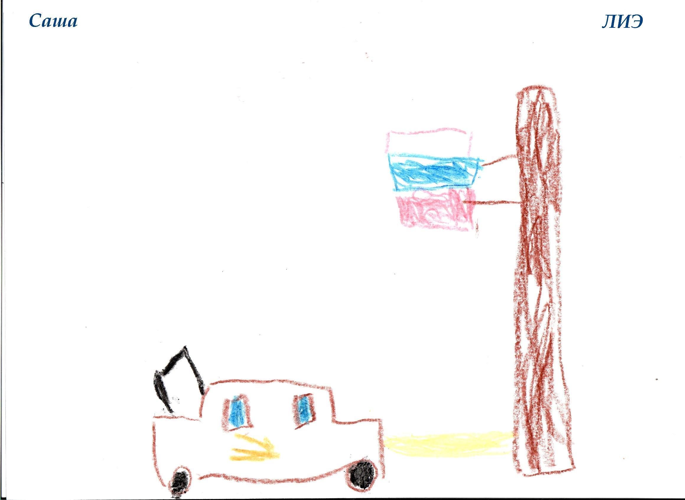 НИИ Соционики. Диагностика детей дошкольного возраста. Рисунок ЛИЭ, 5 лет