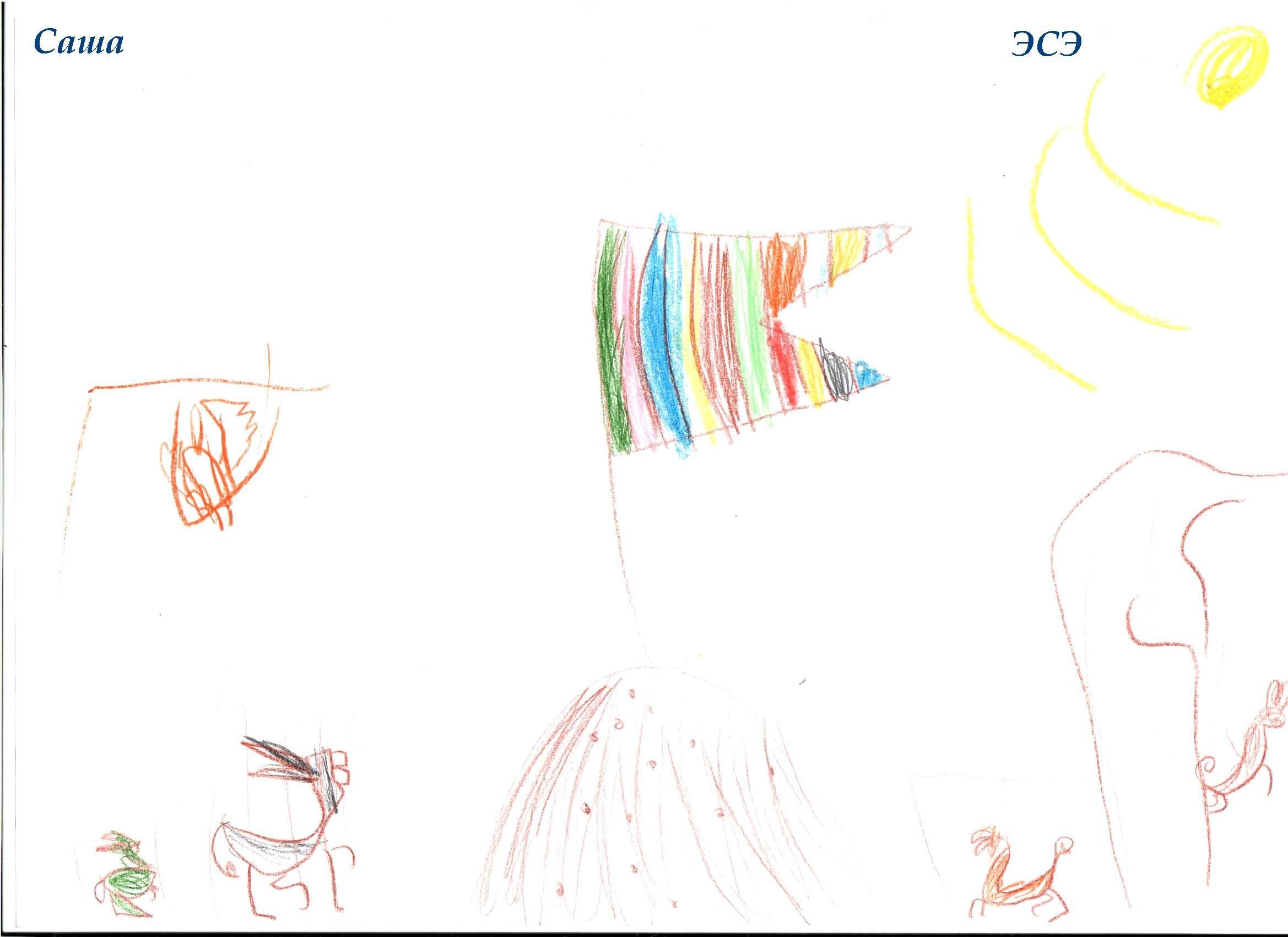 НИИ Соционики. Диагностика детей дошкольного возраста. Рисунок ЭСЭ, 6 лет
