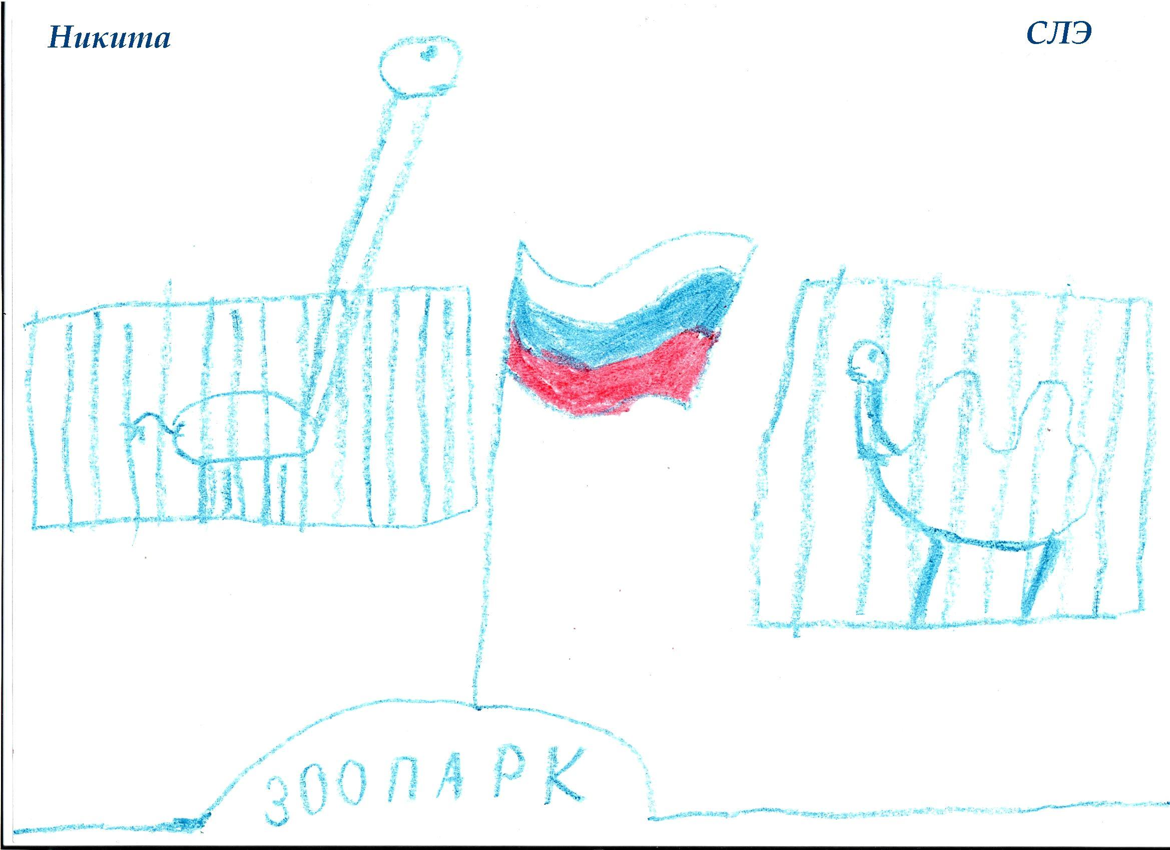 НИИ Соционики. Диагностика детей дошкольного возраста. Рисунок СЛЭ, 7 лет