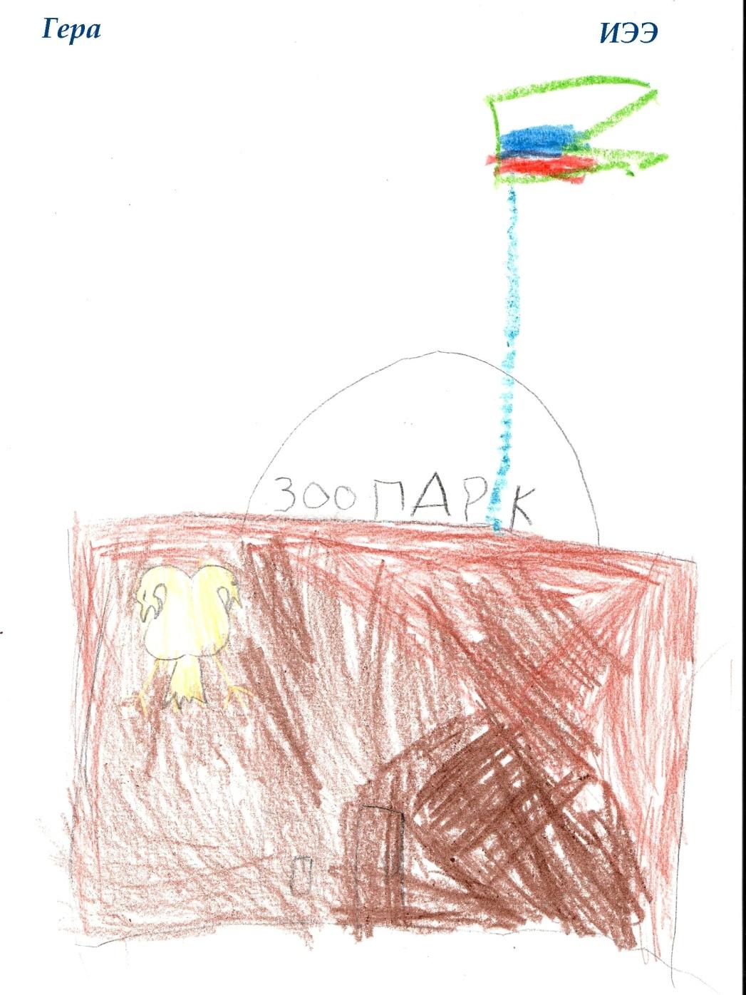 НИИ Соционики. Диагностика детей дошкольного возраста. Рисунок ИЭЭ, 4 года