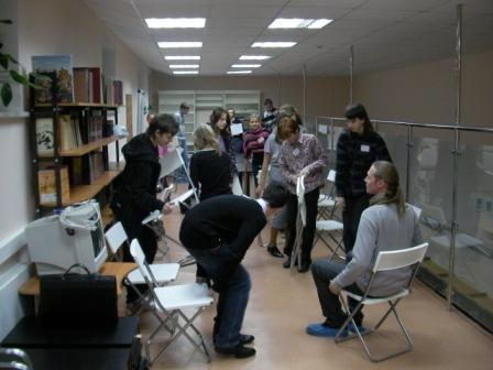 Диагностический тренинг по профориентации. НИИ Соционики